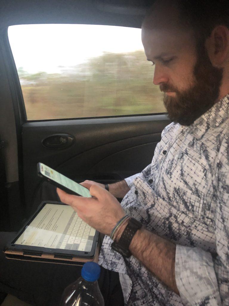 preparing sermons in-between meetings