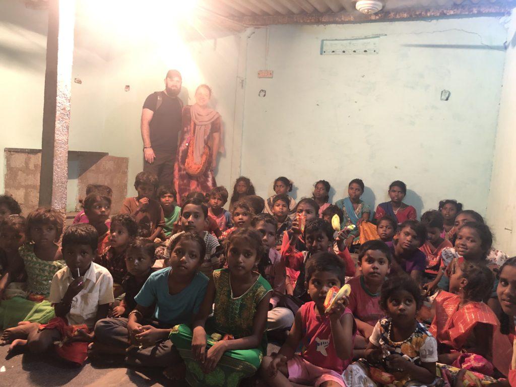 Children's home in the slum area